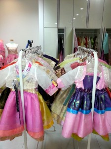 Rental hanboks for babies.