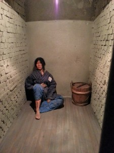 A typical cell where prisoners would be held while awaiting their torture.