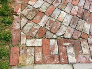 Inmates were forced into labour on the prison grounds. Some products included textiles, while others made the very bricks that held them captive. The bricks with the embossments were made by prisoners of Seodaemun Prison.