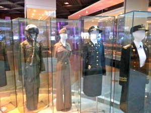 Female uniforms in Korea over the years.