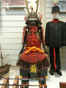 Old Korean samurai uniform.