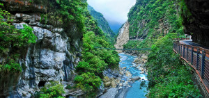 Taroko National Park, Taiwan. Courtesy of flickr.com.