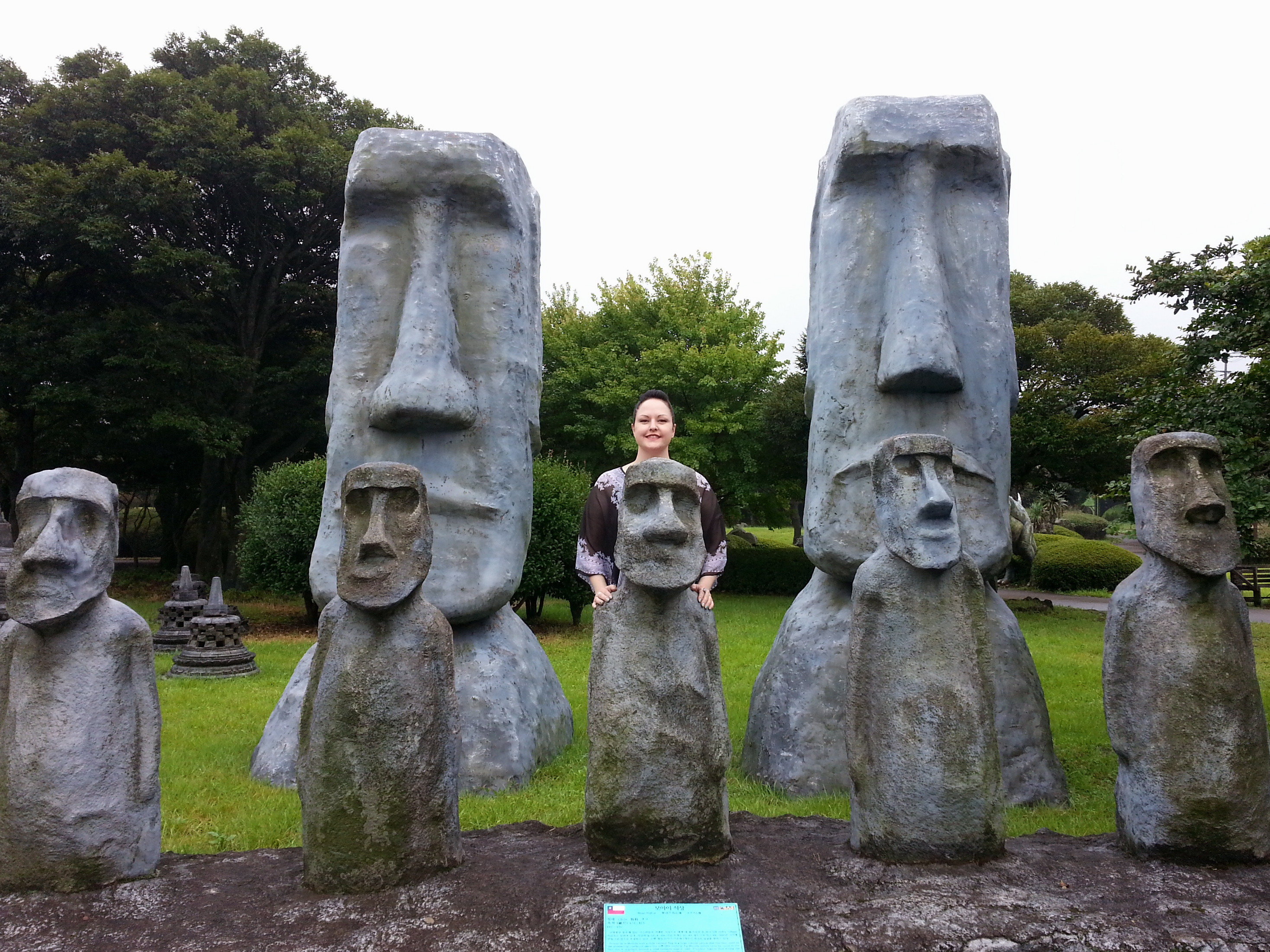 Statues Of Gods Jeju S Love Land Amp Mini Land 187 Karli In Korea